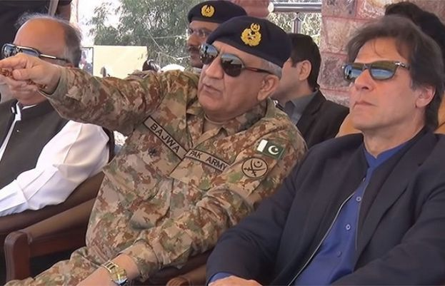 PM Imran and Chief of Army Staff (COAS) General Qamar Javed Bajwa