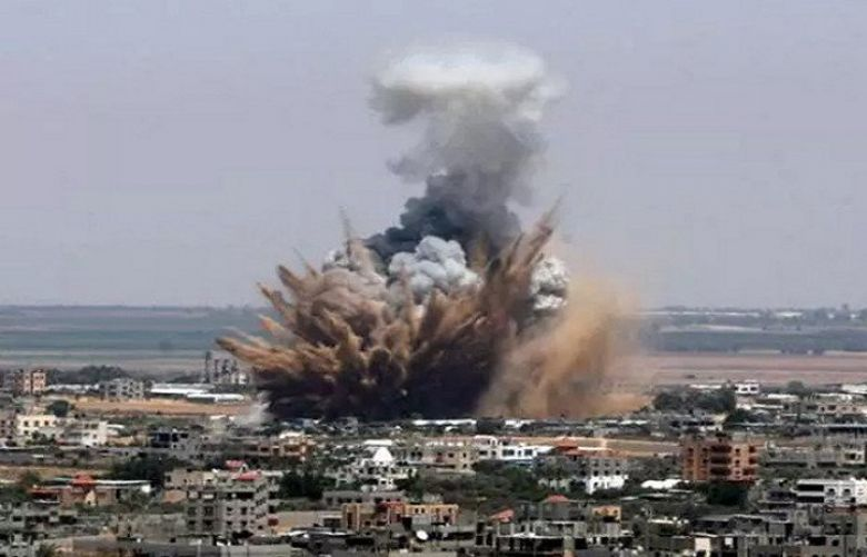 Israeli fighter jets target multiple positions in northern Gaza