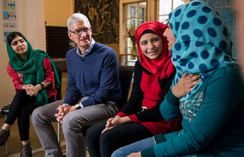 Apple joins hands with Malala Fund to support girls' education