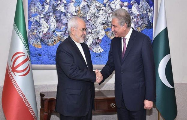 Iranian foreign minister, Qureshi discuss regional peace, stability