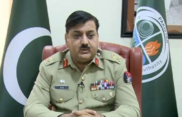 National Disaster Management Authority (NDMA) Chairman Lt Gen Muhammad Afzal