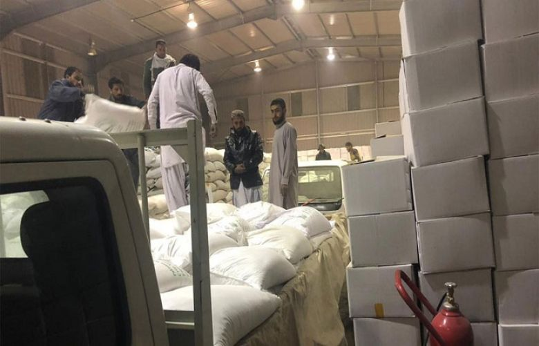 NDMA dispatches food bags for affected people of Balochistan
