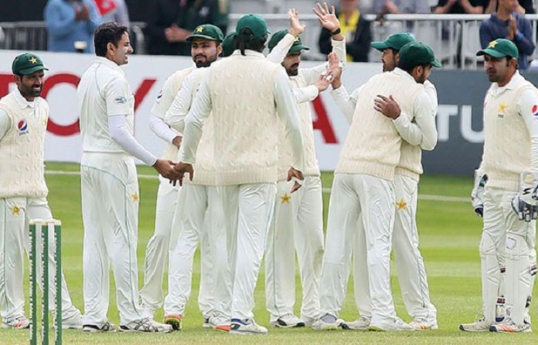 Pakistan lose early wicket in historic Test match against Ireland
