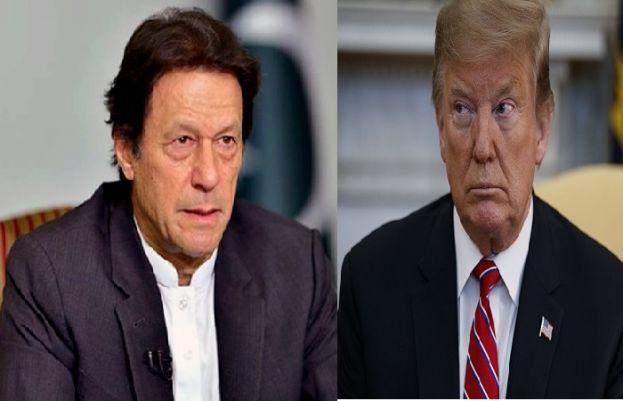 Prime Minister Imran Khan and US President Donald Trump