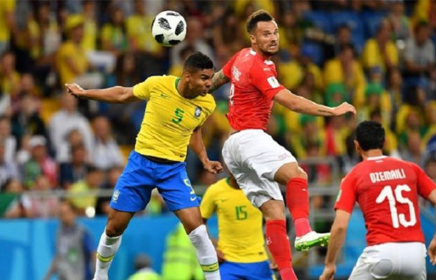 Brazil held to 1-1 draw by Switzerland in Group E opener