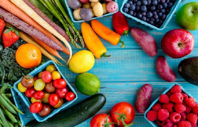 Keep eating veggies and fruits for better health