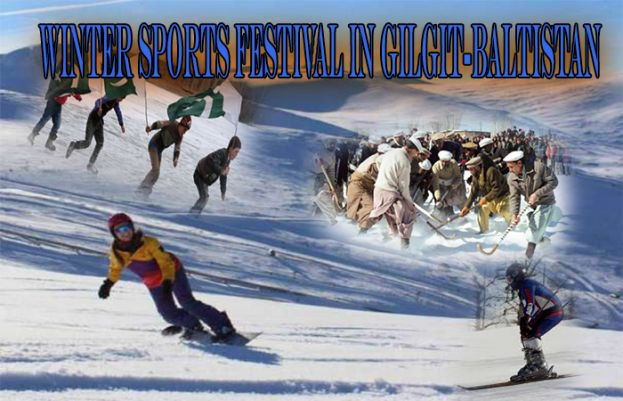 Winter sports festival begins at scenic Naltar valley in GB