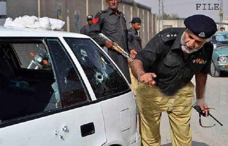 Vehicle of sessions judge comes under attack in Diamer
