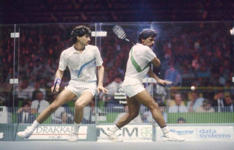 The Greatest player of Squash Jahangir Khan