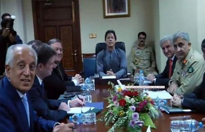 PM Khan, US Secy of State Pompeo hold meeting at PM House