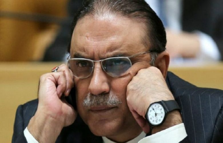 Former president Asif Ali Zardari filed a new petition in the Supreme Court