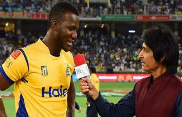 Peshawar Zalmi captain Darren Sammy