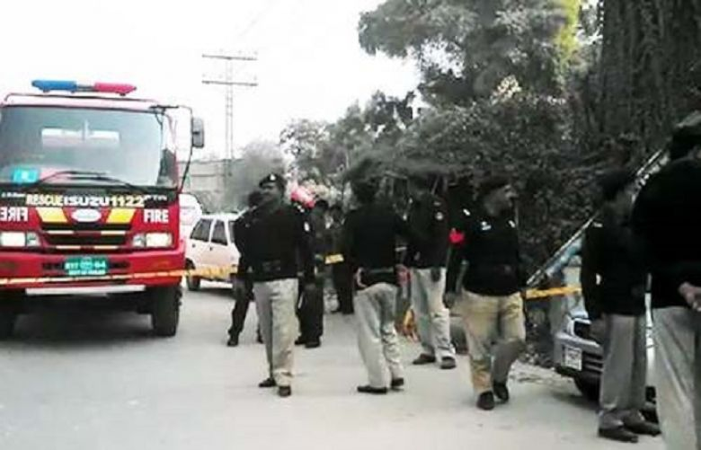 Bomb blaste near mosque in Rahim Yar Khan