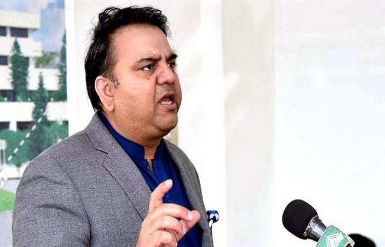 Federal Minister for Information and Broadcasting, Fawad Chaudhry