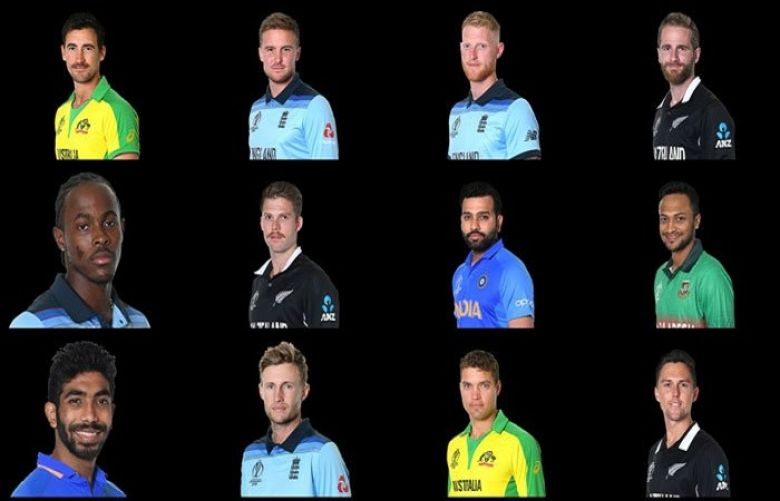 ICC World Cup 2019 team