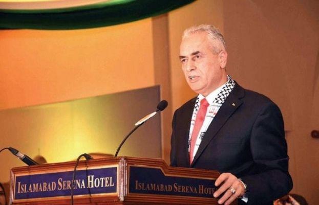 Palestinian Ambassador Ahmed Rabei