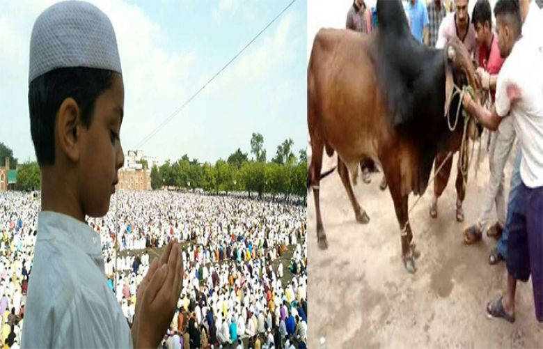 Nation celebrating Eid-ul-Azha with great religious zeal and fervor