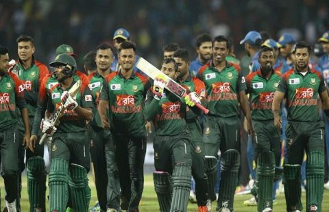 Bangladesh Cricketers donate Half-Month salary to Government Fund