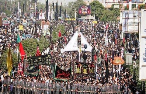 The 9th of Muharram procession