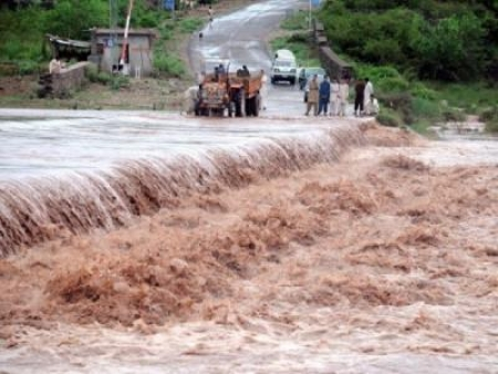 37 People killed due to Heavy rains & Flash floods
