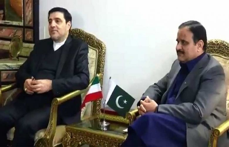 CM Buzdar, Iranian Consul General discuss matters of mutual interest