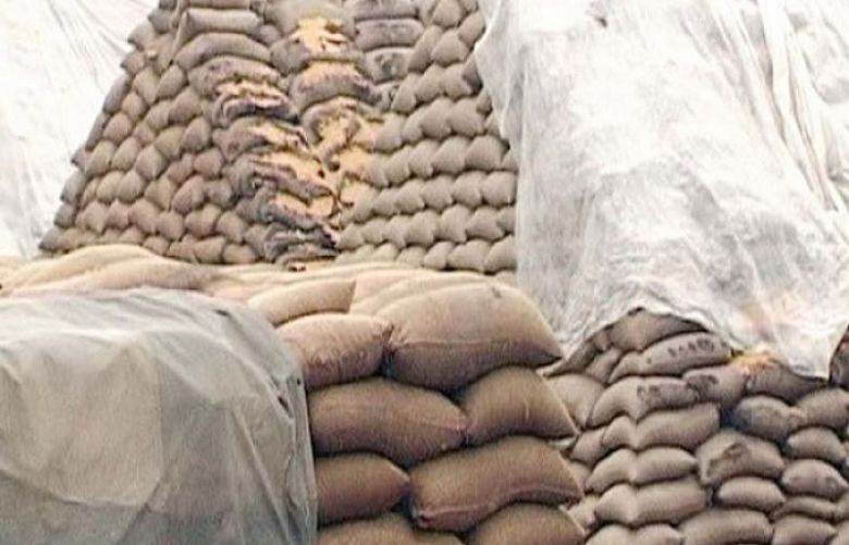 56,000 wheat sacks seized in Rahim Yar Khan