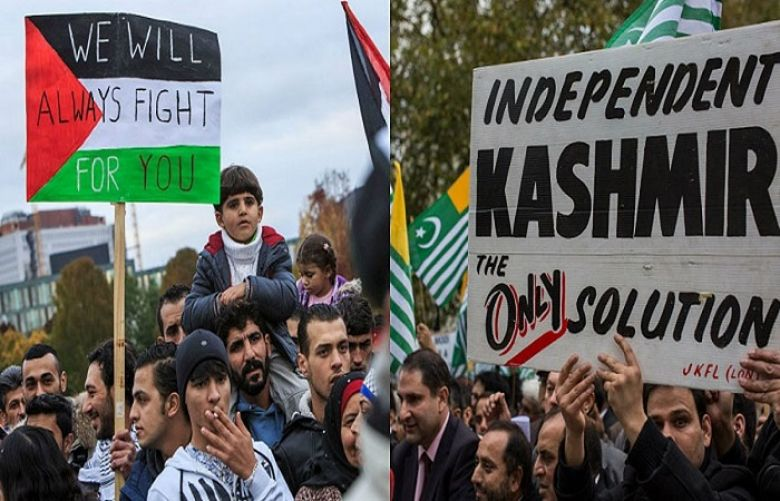 Al-Quds Day: Forceful anti-India, anti-Israel rallies in IOK