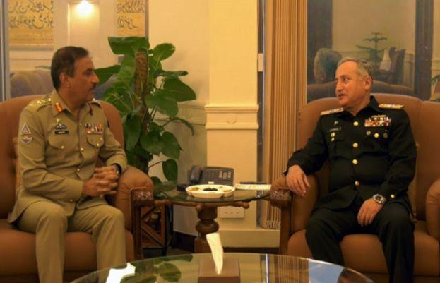 CJCSC appreciates performance and capabilities of Pak Navy