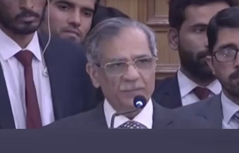 Chief Justice of Pakistan Saqib Nisar