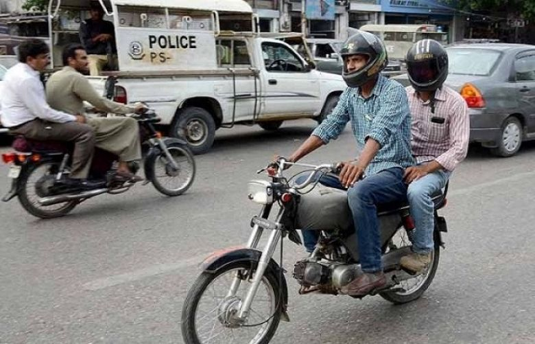 Pillion riding banned in Federal Capital for 2 months