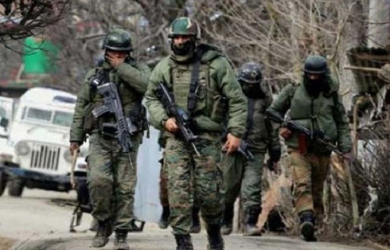 Indian troops martyred four Kashmiris in the Shopian district on Sunday  evening. Photo: Geo News file