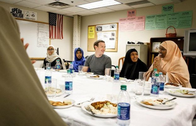 Zuckerberg has his first iftar dinner with Somali refugees