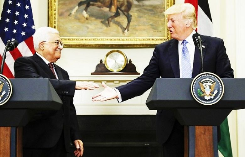 "US President Donald Trump committed the United States Wednesday to helping Israel and the Palestinians reach peace, telling visiting Palestinian leader Mahmud Abbas: ""We will get it done."""
