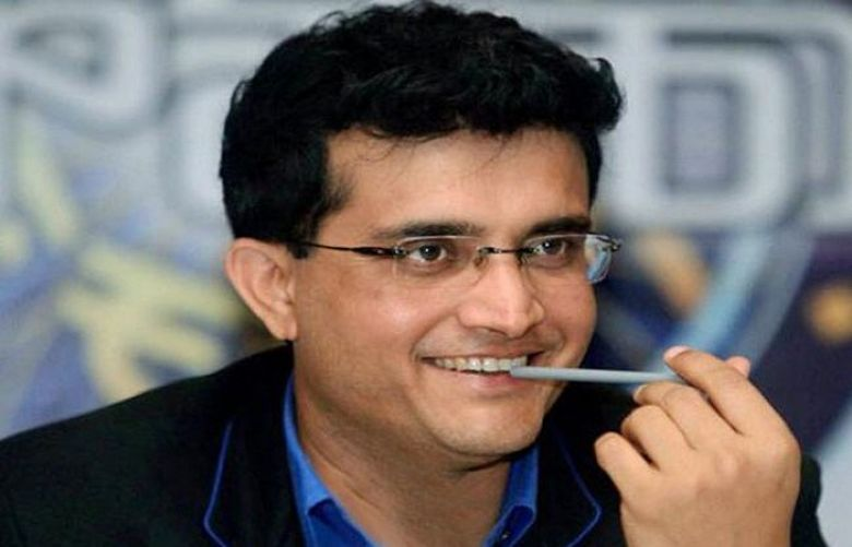 Former India captain Sourav Ganguly
