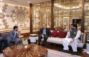 Iranian deputy minister calls on Shehryar Afridi, discuss issue of Refugee Hosting