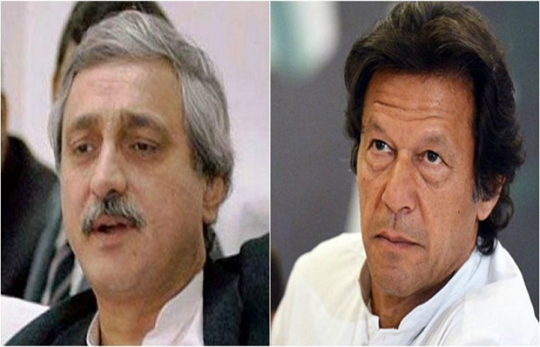 Chairperson Imran Khan and Secretary General Jahangir Tareen
