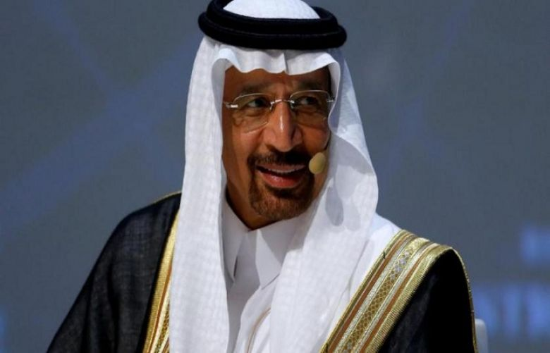 Saudi Minister of Energy, Industry and Mineral resources Khalid bin Abdulaziz Al-Falih