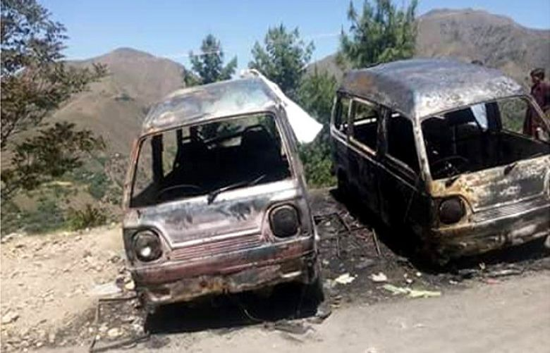 17-year-old Ambreen was burned alive in a van allegedly on a jirga's orders for helping her friend marry of her own will in May 2016.