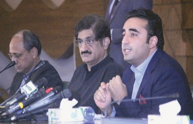 CM SINDH MURAD ALI SHAH LEAVES FOR US, LIKELY TO BE JOINED BY BILAWAL BHUTTO