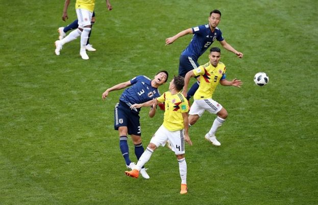 Japan beat Colombia 2-1 in World Cup