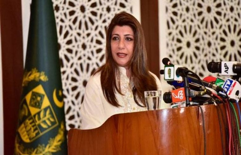 Foreign Office spokesperson Aisha Farooqui