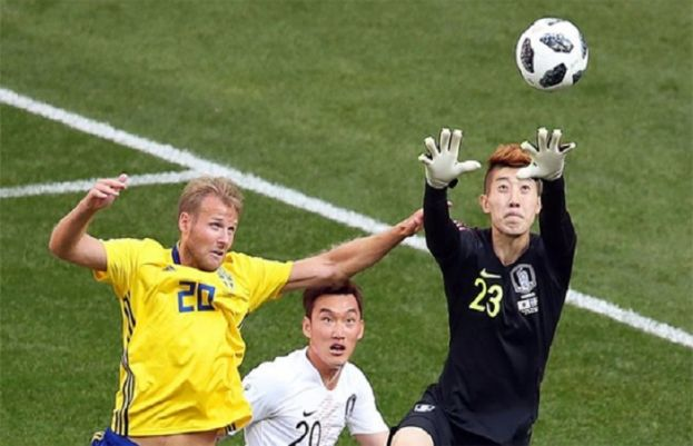 Sweden Beat South Korea in FIFA WC