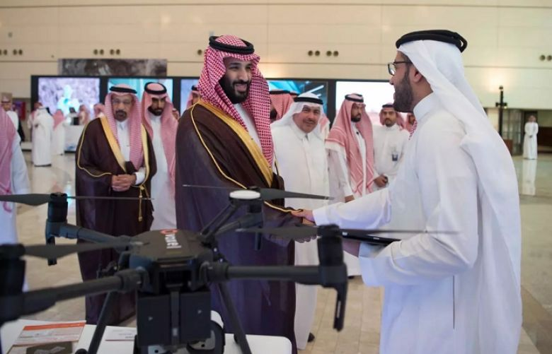 Crown Prince sets foundation stone for first Saudi nuclear research reactor