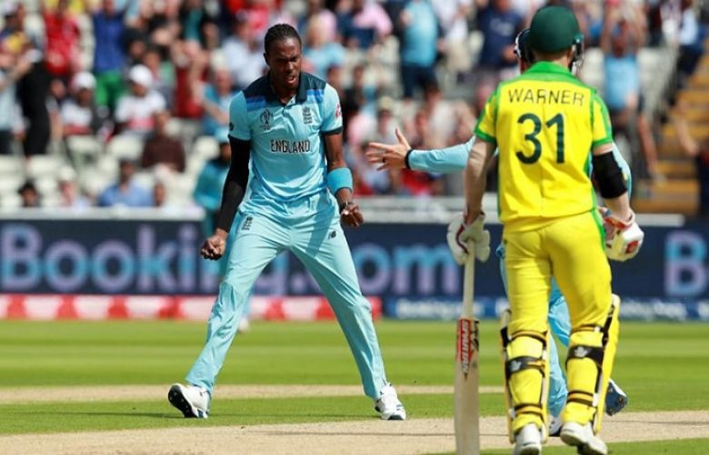 Adil Rashid bags 3rd wicket of the day, Australia back in trouble in World Cup semi-final