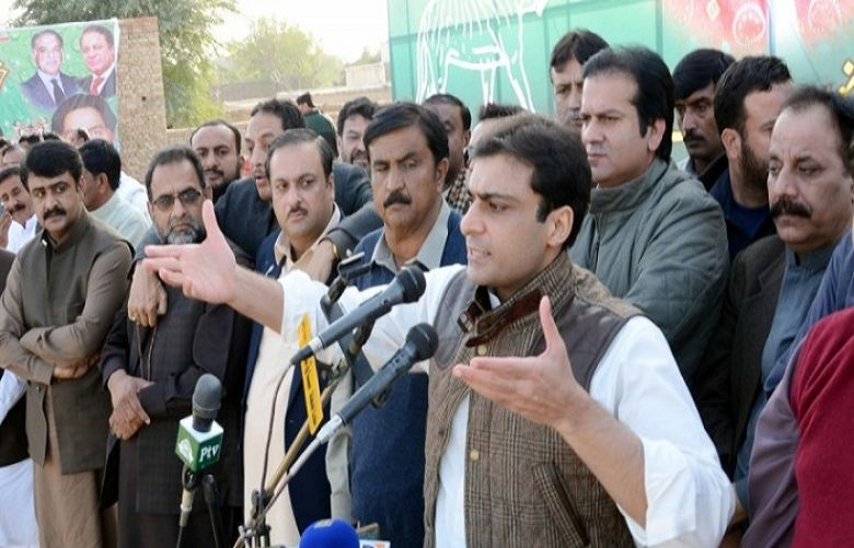 Hamza Shehbaz warns PM Khan against 'imprisonment threats'