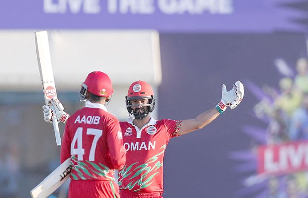 T20 World Cup: Oman off to flying start with 10-wicket triumph over Papua New Guinea