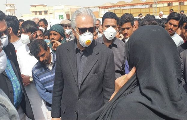 Special Assistant to Prime Minister on Health Dr Zafar Mirza
