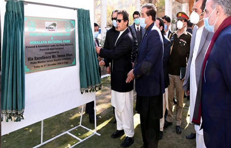 PM Khan inaugurates two new national parks in Gilgit-Baltistan