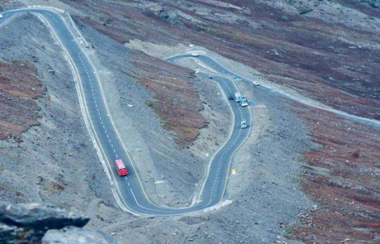 Babusar Chilas road to opened for heavy traffic from Tuesday