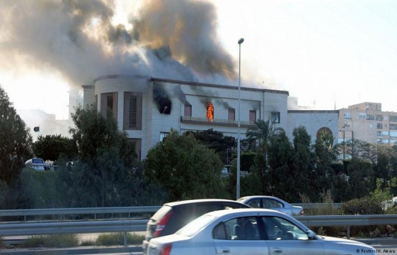 Suicide bomber attacks Libya's Foreign Ministry